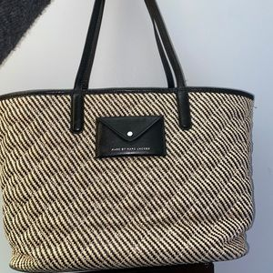 Marc Jacobs wicker tote